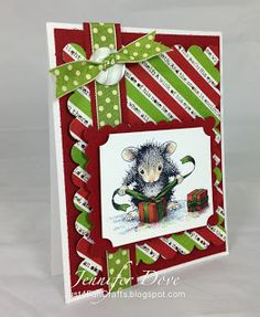 @Allison j.d.m j.d.m j.d.m j.d.m House!-Mouse #Stampendous Gifts to Tie featuring Monica Mouse