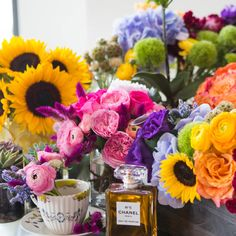 Floral tips and tricks to better decorate your home. Good ideas for a wedding too.