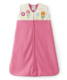 Look what I found on #zulily! Pink & White Flower HALO SleepSack by Halo #zulilyfinds