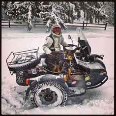 #Ural outfit in the snow