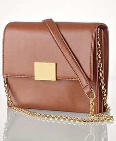 Lauren Ralph Lauren Handbag, Newbury Small Crossbody   tan   gold. Cute  Handbags, 07564fa08b