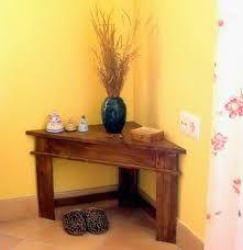 Mesa esquinera de madera mesas pinterest mesa for Mesa esquinera madera
