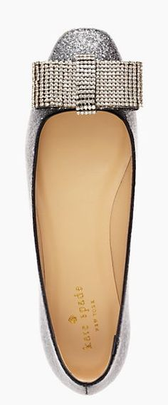 Sparkly bow flats? Yes, please! #katespade Clothing, Shoes & Jewelry : Women : Handbags & Wallets : http://amzn.to/2jE4Wcd