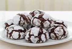 Chocolate Crinkles 'Crack' Cookies Recipe – Easy and Gluten-Free! Chocolate Crack, Chocolate Crinkle Cookies, Chocolate Crinkles, Gluten Free Chocolate, Crack Cookies Recipe, Easy Cookie Recipes, Dessert Recipes, Desserts, Cracked Cookies