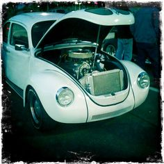 VW beetle with V8