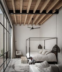38 ideas bedroom loft style wood ceilings for 2019 Interior, Home, Bedroom Design, Cheap Home Decor, House Interior, Home Interior Design, Interior Design, Minimalist Home Interior, Loft Style