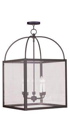 Livex Lighting Milford Bronze Lantern 4038-07