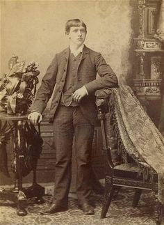 Memento Mori Photographs | Memento Mori: Victorian Death Photos / Man being held up by posting ...