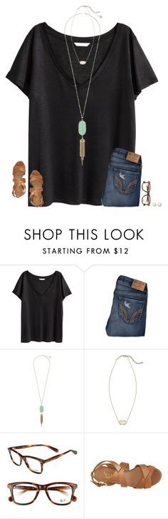 featuring H&M, Hollister Co., Kendra Scott, Ray-Ban, Franco Sarto and Kate Spade