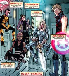 Next Avengers like the pairings but nat and captain America