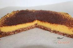 Recept elkészítése FITNESZ mangótorta sütés nélkül, lépés 9 Healthy Sweets, Healthy Recipes, Mango, Tiramisu, Pie, Ethnic Recipes, Desserts, Top Recipes, Figs
