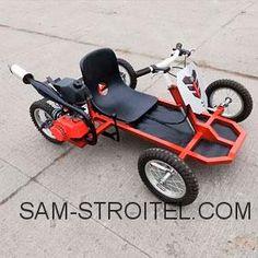 Картинг своими руками: фото и описание изготовления машины Off Road Buggy, Karting, Go Kart, Tricycle, Baby Strollers, Motorcycle, Dan, 4x4 Trucks, Baby Prams