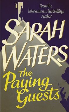 Virago unveil cover for new Sarah Waters novel - Can't wait!