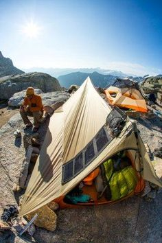 Big Agnes Scout UL2 Tent tested well in the rugged wild http://www.campingquartermaster.us/tents/big-agnes-angel-springs-ul2-tent-review/