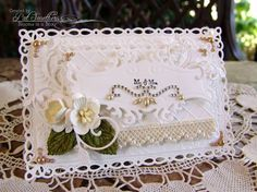 ~Mr. & Mrs.~ by Blooms in a Box - Cards and Paper Crafts at Splitcoaststampers