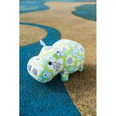 *Mary the Hippo Toy Sewing Pattern