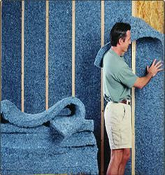 Most Effective and Inexpensive Sound Deadening Material for Industrial Rooms. Are sound deadening insulation really good for soundproofing a room? Home Insulation, Types Of Insulation, Spray On Insulation, Cellulose Insulation, Fiberglass Insulation, Trailer Casa, Soundproofing Material, Casas Containers, Home Repairs