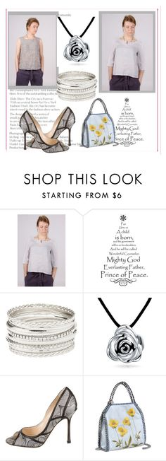 Maliposhaclothes on Polyvore featuring Jimmy Choo, STELLA McCARTNEY, Bling Jewelry and Charlotte Russe