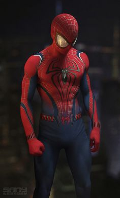 To have this costume available in Marvel's Spiderman. Amazing Spiderman, All Spiderman, Spiderman Suits, Spiderman Costume, Marvel Dc Comics, Marvel Heroes, Marvel Avengers, Heros Comics, American Comics