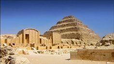 The step pyramid at Saqqara