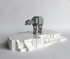 Join the Empire Engineering Team and build your own mini AT-AT [Instructions]