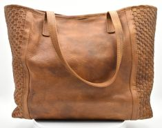 Tote bag in  braided