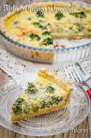 Din bucătăria mea: Tarta cu branza si broccoli Jacque Pepin, Cooking Recipes, Healthy Recipes, Quiche, Broccoli, Salad Recipes, Food And Drink, Appetizers, Yummy Food