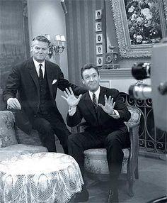 Heinz Conrads und Peter Alexander Memories, Austria, Mid Century, Stars, Movie, Singer, Tv, Legends, Memoirs