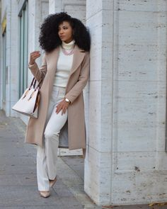 45 Fashionable Work Outfit Ideas To Look Cool - VIs-Wed - Work Outfits Women Stylish Winter Outfits, Casual Work Outfits, Winter Outfits Women, Business Casual Outfits, Business Attire, Work Attire, Work Casual, Classy Outfits, Outfit Work