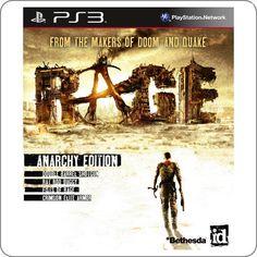 PS3 Rage: Anarchy Edition R$129.90