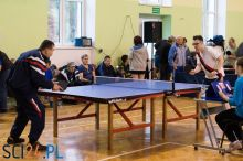Międzywojewódzki Turniej Tenisa Stołowego Osób Niepełnosprawnych