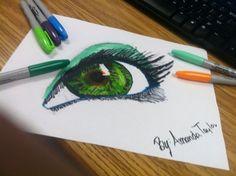 realistic eye