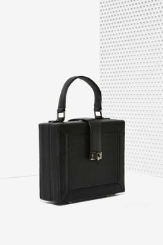 Square Enough Leather Bag - Accessories | Bags + Backpacks