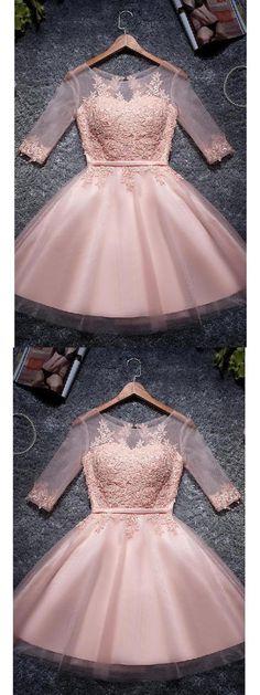 A-Line Homecoming Dresses #ALineHomecomingDresses, Short Homecoming Dresses #ShortHomecomingDresses, Prom Dresses 2019 #PromDresses2019
