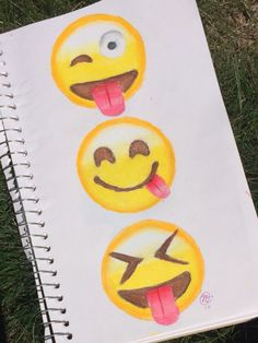 Emoji drawing by @tasha.draws on Instagram