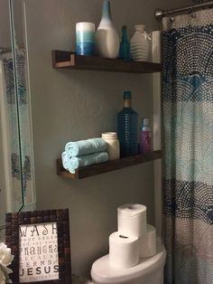 Wooden Floating Shelves by houseofminedesigns on Etsy https://www.etsy.com/listing/214844457/wooden-floating-shelves