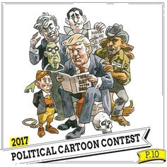 This Wednesday: Our first-ever #political #cartoon contest. Plus Sex Headaches figure drawings GMO docs and more. In print everywhere online at sfreporter.com (link in bio) #SFR #twitter #cartoons #comics