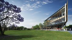 University of Queensland School of Business in Brisbane by Richard Kirk Architect + Hassell