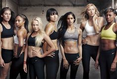 nike training club ladies.   best app ever, and these chicks motivate me like no other. I just got this app and it's absolutely amazing and motivating. If you don't have it. GET IT.