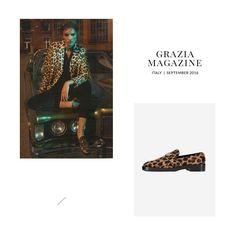 For pattern lovers. The new pony mocassin, featured in @Grazia_it Magazine, is now available online at ballin-shoes.com #Ballin #BallinShoes #Shoes #Graziamagazine #Fashion