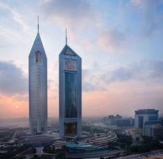 Hotel Jumeirah Emirates Towers in den Vereinigten Arabischen Emiraten