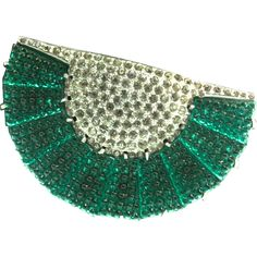 FALLON KAPPEL ART DECO STYLE EISENBERG DRESS CLIP This RARE beauty is one I have NEVER seen before, or anything like it for that matter. This is a