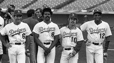 Steve Garvey, Reggie Smith, Ron Cey and Dusty Baker