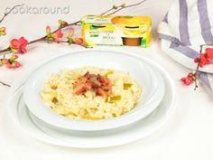 Risotto alle mele verdi e pancetta | Cookaround