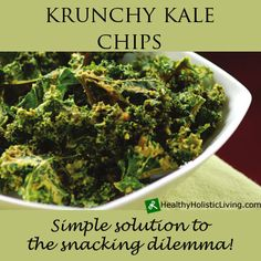 Are you looking for an alternative to potato chips? Kale chips are the simple solution to your snacking dilemma