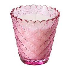TIDSENLIG Bougie parfumée dans verre - IKEA 2.99