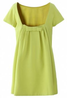 Bow back dress $61