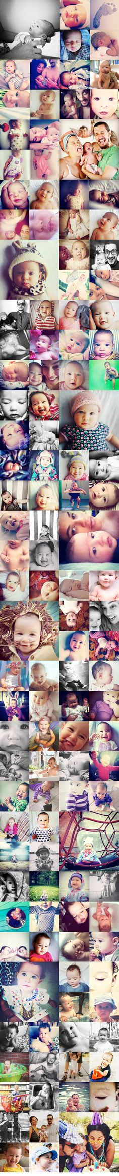 One year of Ida, Idagrams! by blog, justinablakeney: Awesome! #Photography #Babies
