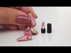 Como fazer Maquiagem para Barbie (2017) - Batom, Paleta de Sombras e Base - YouTube