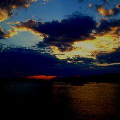 Sunset in Annisquam
